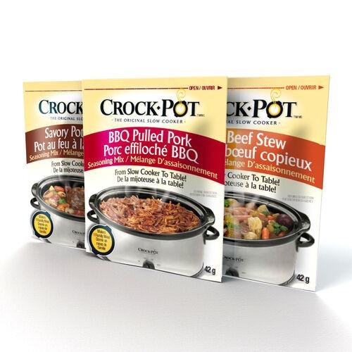 Crock-Pot® Seasoning Mix, Variety Pack (3 Pack)