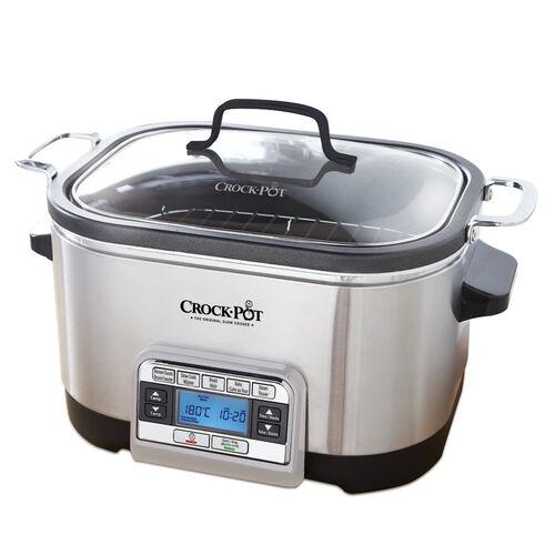 Crock-Pot® 5-in-1 Multi-Cooker in Stainless Steel