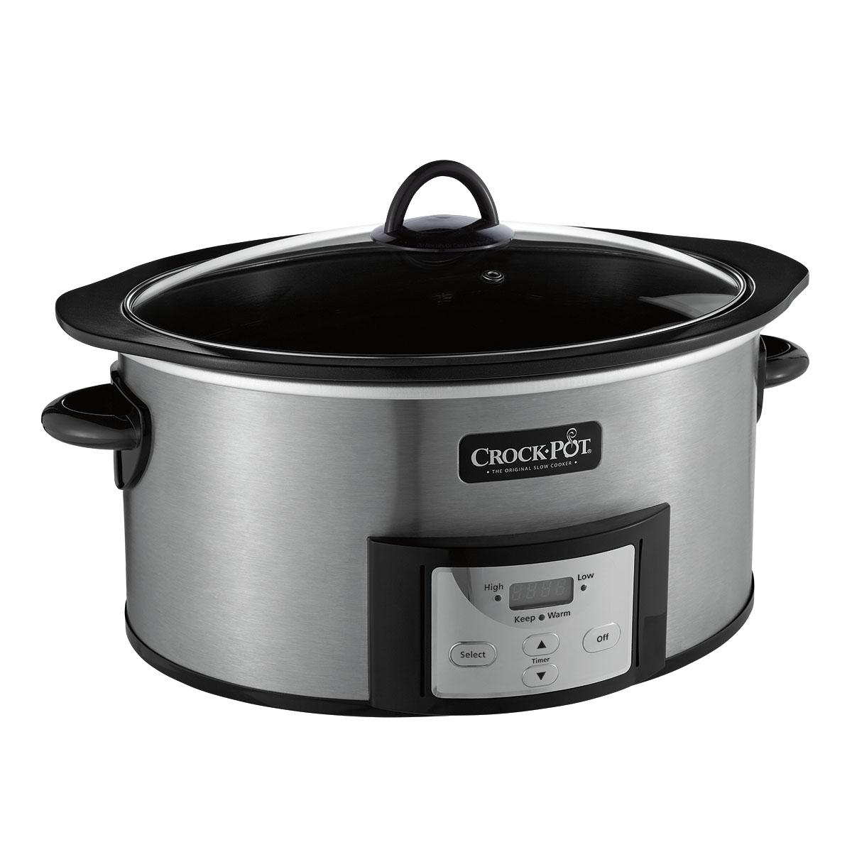 Mijoteuse Crock-Pot de 6 pintes avec récipient de cuisson ...