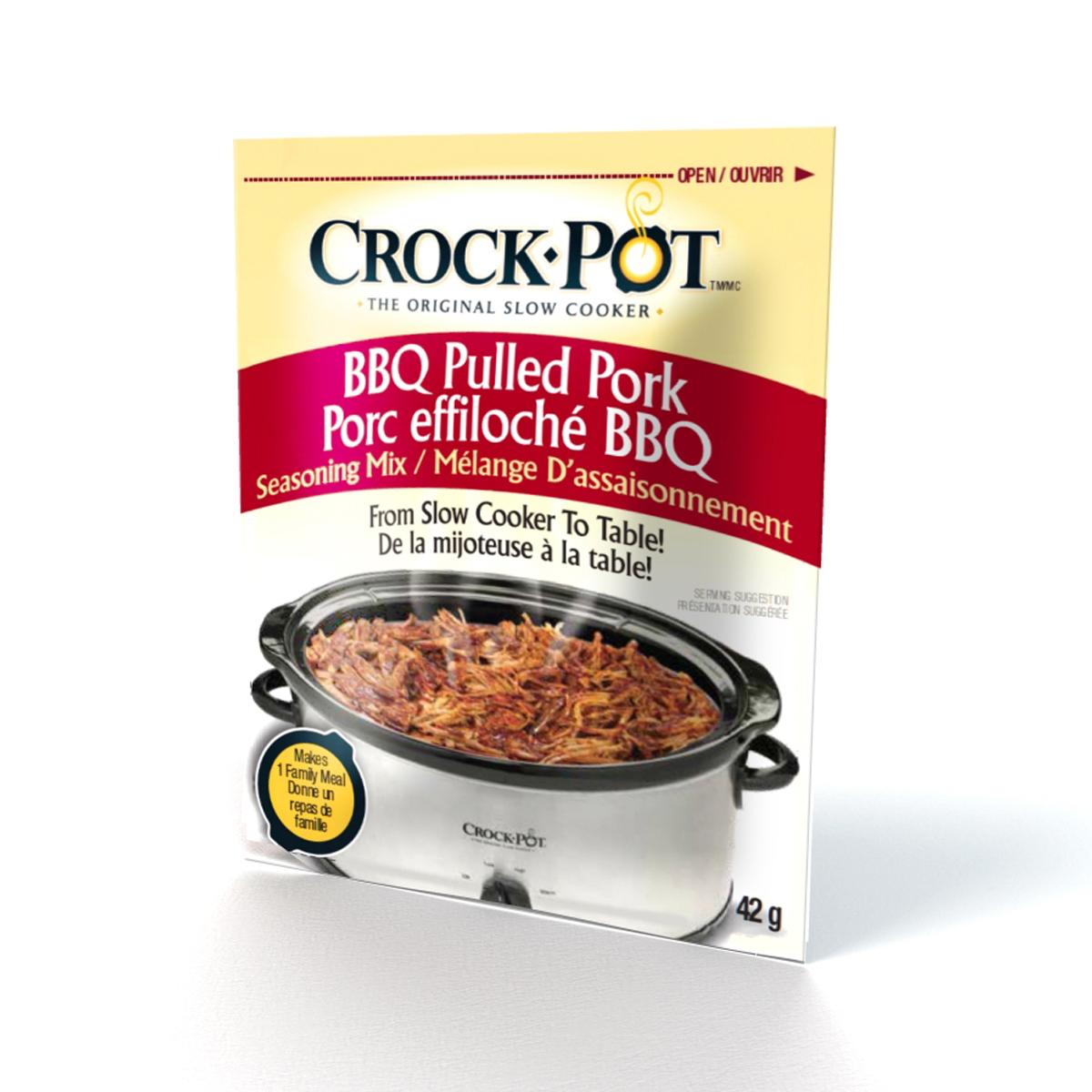 Crock-Pot® Seasoning Mix - BBQ Pulled Pork SCCPSMBBQ3PK-033 | Crock ...