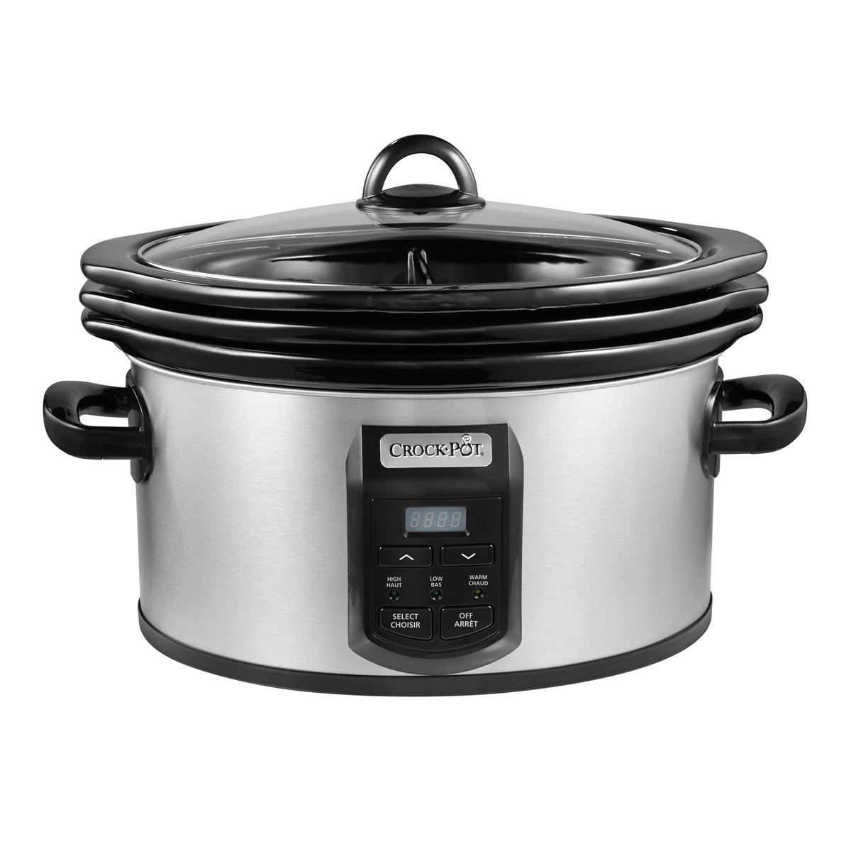 Crock-Pot® Choose-A-Crock 2,4,6 Qt. Oval Programmable Slow