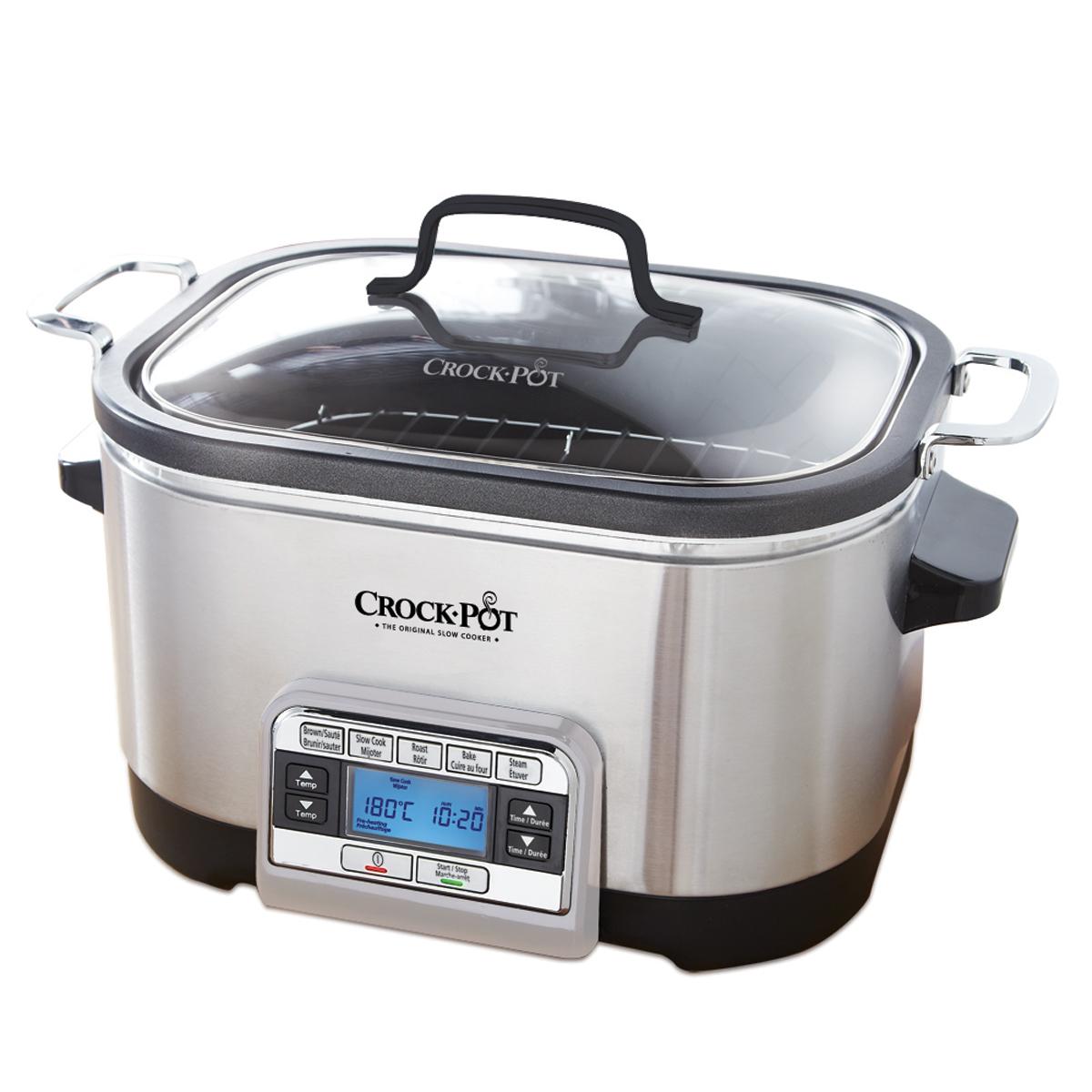 5 in 1 crock pot multi cooker crock pot canada for Multi cooker