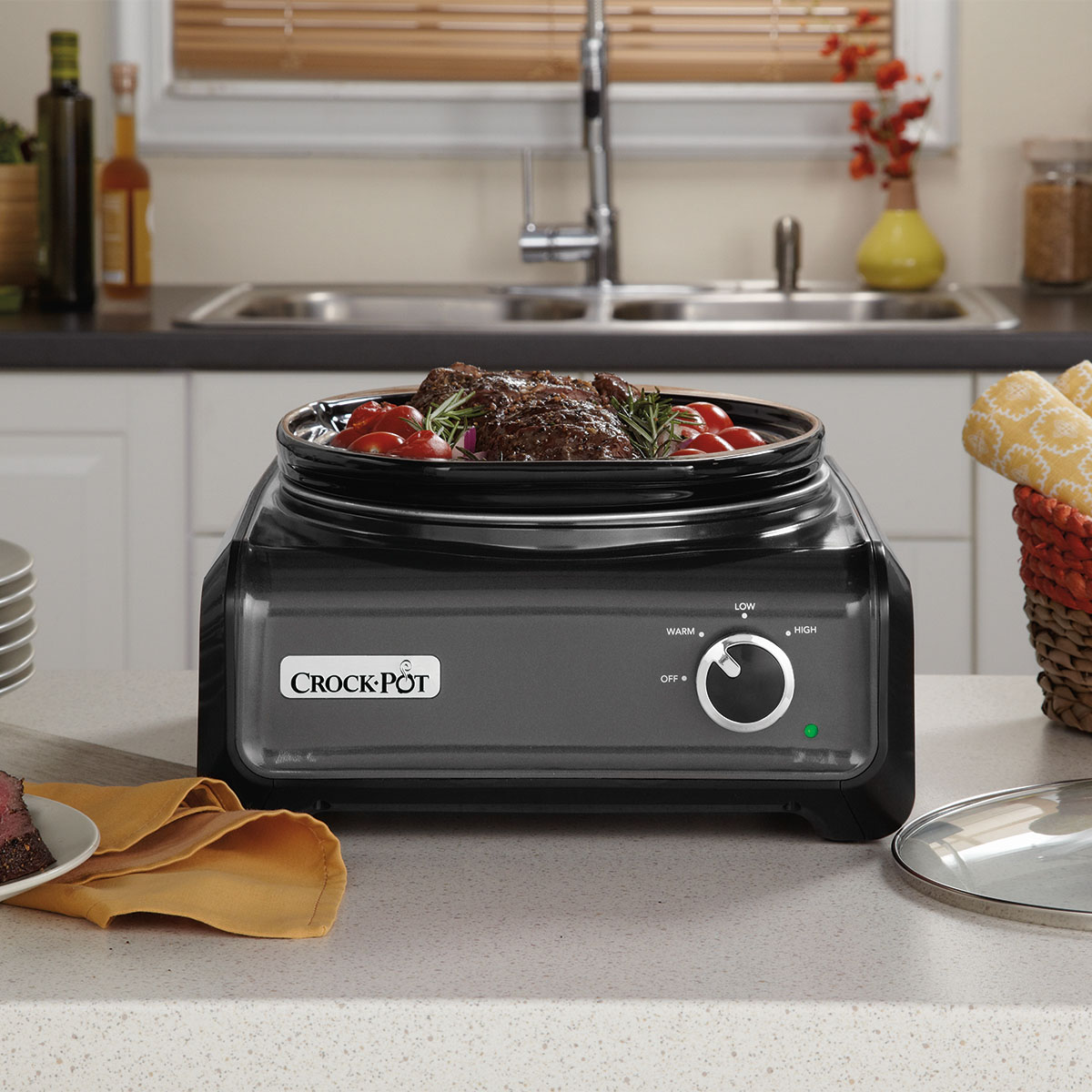 crock pot hook up Find great prices on crock-pot hook up 2-quart connectable entertaining slow cooker system, blue and other slow cookers deals on shop rachael ray.