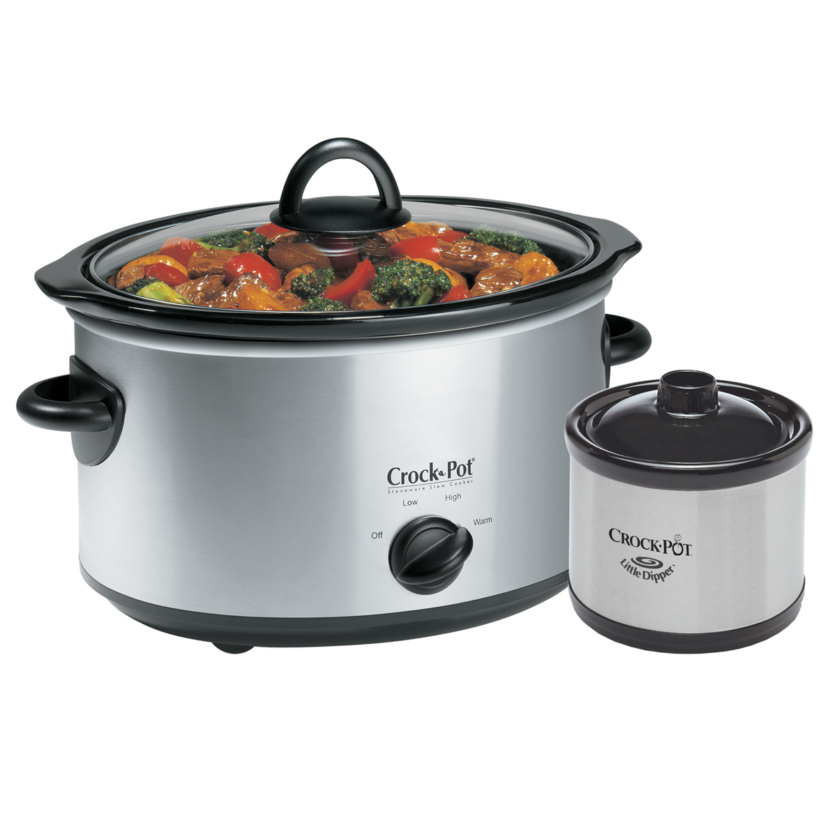 Crock-Pot® 5Qt. Oval Manual Slow Cooker With Little Dipper
