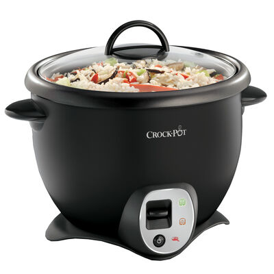 e8b840f1360c Crock-Pot® 16 Cup Rice Cooker, Black CKCPR6039-033 | Crock-Pot® Canada