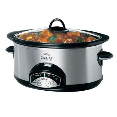 Crock-Pot® Smart-Pot™ Programmable Slow Cooker SCVP600SS-033 / -31CT Parts